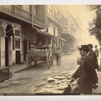 Dupont Street, Chinatown, San Francisco. Taber Photo. 3012