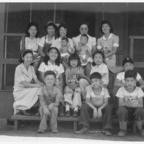 Evacuee orphans from an institution in San Francisco who are now established ...