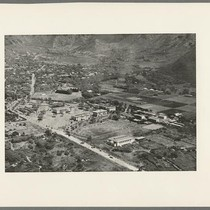 Aerial view of University of Hawaii, Honolulu, circa 1930
