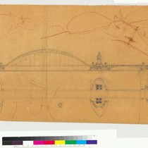 Architectural sketch of Bridge