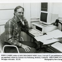John S. James, author of AIDS Treatment News