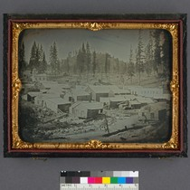 [Nevada City, Nevada Co., 1852] (Detail - image side only.)