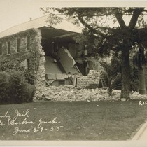 County Jail, Santa Barbara Quake, June 29-25 [June 29, 1925]