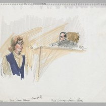 12/16/75 Witness [Woman] - Sara Jane Moore, Federal Judge Samuel Conti