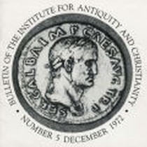 Bulletin of the Institute for Antiquity and Christianity, Number 5