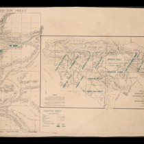 California State irrigation map: Crafton sheet and outline map of the irrigation ...