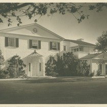 Roland Coate: Selznick house (Beverly Hills, Calif.)