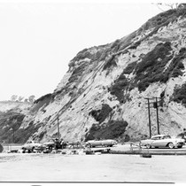101 Highway slide area, 1958