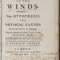 Annotations in A theory of the winds.