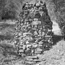 Rathbun Brothers' Lime Kiln, Colusa County, California