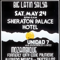 Big Latin Salsa, Announcement Poster for