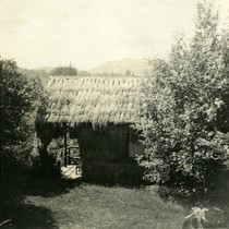 Cabin at Camp Ho Ho, Larkspur, circa 1890 [photograph]
