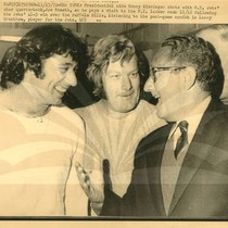 Henry Kissinger and Joe Namath