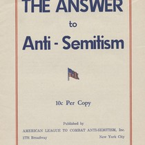 Answer to Antisemitism
