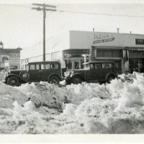 Bishop, California. Blizzard of 1933