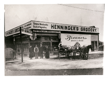 Henninger's Grocery, southeast corner of Penniman and 38th Avenues
