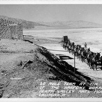 20 Mule Team at the Ruins of the Harmony Borax Works Death ...