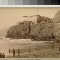 Cliff House, from the Beach