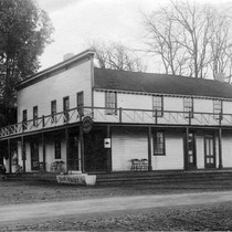 Amador Valley Hotel in early 1900s, c. 1900, postcard
