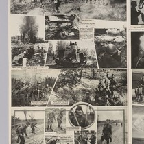 [No title: Soviet photos poster: printed in English: Soviet military operations: Weapons ...