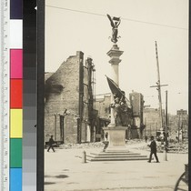 California Statue. [Native Sons of the Golden West monument, Mason and Turk ...