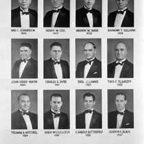 Photograph montage of members from Riverside Lodge No. 635