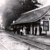 Mill Valley's train station was also known as the Eastland station for ...