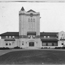 Agnews Clock Tower, ca. 1918