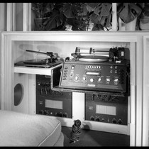 [Postwar House]. Phonograph