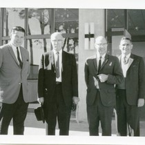 Billy Smith, Joe Betts, E.W. McMillan and unidentified man