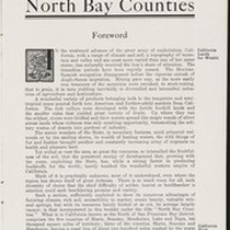 North Bay Counties brochure