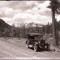 1920's Buick in Mountains