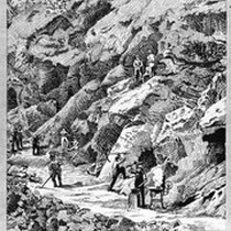 1886 Road Building to Sequoia National Park, Kaweah Colony
