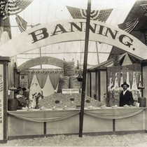 The Banning, California exhibit in the 1925 Southern California Citrus Fair