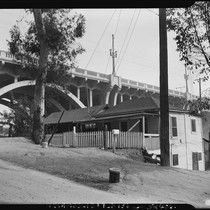 "Bridge in Chavez Ravine's ""Lil' Town"""