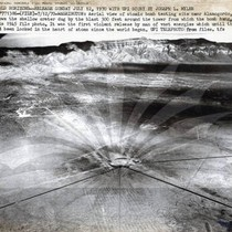 Atomic Bomb Test, Aerial View