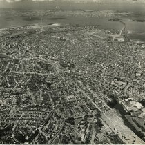 Aerial view of Oakland
