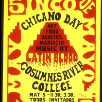 5 de Mayo Chicano Day, Announcement Poster for