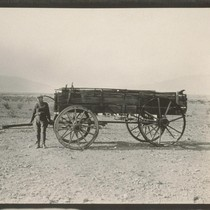 Death Valley. In 1876 Government Surveyors found this old wagon in the ...