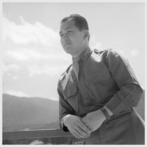 1st Lt. Shigeru Tsubota has been serving with the 100th Battalion in ...