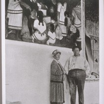 Mary Austin and Diego Rivera - Cuernevaca