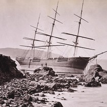 Wreck of the Ship Paul Jones. Fort Point