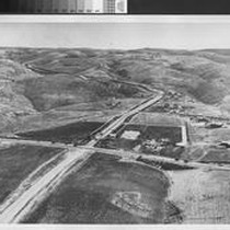 Aerial view of Portuguese Bend Road, Rolling Hills