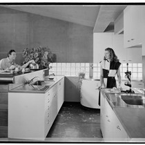 Turner, George, residence. Kitchen