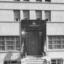 St. Joseph College of Nursing front entrance