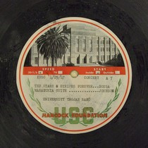 American Music Festival opening concert, 1947-04-25