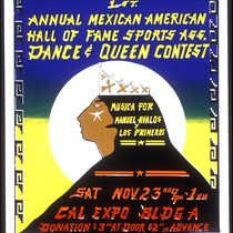 1st Annual Mexican American Hall of Fame, Announcement Poster for