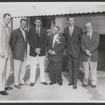 1959 Open House, G.A.B. with L.A. Dodgers