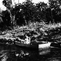 Alamilla Springs, Bertha and Roy Niedt, (c. 1920s), photograph