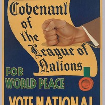 Our word is our bond: For world peace: Vote National